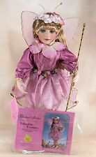 "Paradise Galleries Valentine Treasure Porcelain Fairy Doll 14"" by Linda Mason"