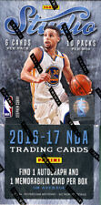 2016/17 Panini Studio Basketball Hobby Box 10 Packs 6 Cards Per Pack