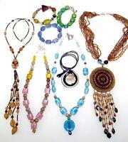 Glass Bead Necklaces & Bracelets - Foil Art Glass - Wholesale - Resale - Job Lot