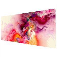 More details for 90x40cm extra large xxl mouse mat pad desk full desk purple pink uk