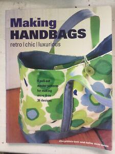 Making handbags  Retro Chic Luxurious