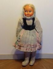 Vintage Polish Mask Face Doll With Original Clothes