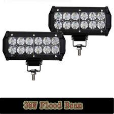 36W Cree LED Work Light Bar 4WD Offroad Flood Fog ATV SUV Driving Lamp 7inch