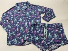 Details about  /NWT Munki Munki Nite Nite XS or L Blue Whale Ship Nautical Pajama Shirt Top