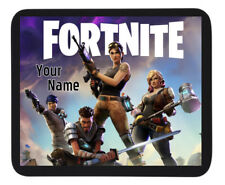 PERSONALISED CUSTOM NAME FORTNITE GAMING MOUSE MAT / PAD - PC/Laptop