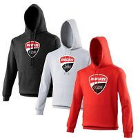 Ducati Corse Hoodie Biker Motorcycle Rider VARIOUS SIZES & COLOURS