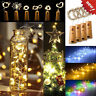3Pcs Cork Shaped 15 LED Night Light Starry Lights Wine Bottle Lamp For Party SD