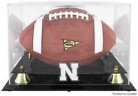 Nebraska Cornhuskers Golden Classic Logo Football Display Case - Fanatics