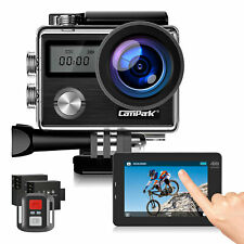 Campark WIFI 4K 20MP Sport Action Camera Touch Screen Waterproof Remote Control