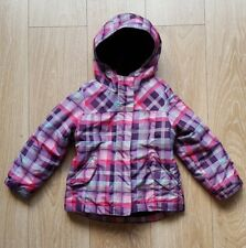 Cherokee Pink check Girls Coat Age 4