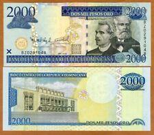 Dominican Republic, 2000 Pesos Oro, 2010,  P-181c, UNC