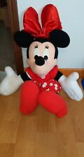 "New listing Disney Mattel Giggle & Talk Minnie Mouse Large 31"" Jumbo Stuffed Plush Toy"