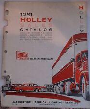 1961 Holley Sales Parts Catalog