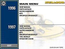 1996 97 SeaDoo SP SPX SPI GTS GTI GSX GTX XP HX Shop Service Repair Manual on CD