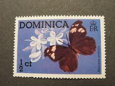 Schmetterling Papillon 1/2 c Michel-Nr. DM 430 Dominica postfrisch 1975