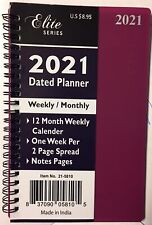 2021 Spiral Weekly Monthly Planner