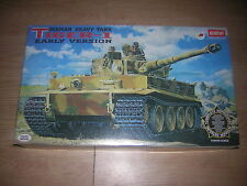 1/35 German TIGER I early version  ACADEMY Hoby Model  army  Military Miniatures