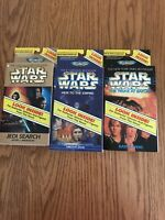 galoob micro machines star wars 1996 epic collections 3 novels with figures