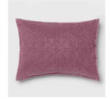 Opalhouse Eggplant Medallion Stitched Boho Pillow Sham ~ King