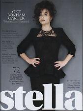 Helena Bonham Carter on Magazine Cover November 2012