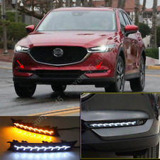 2017 2018 2019 For Mazda CX-5 LED Daytime Running Light DRL Front Fog Light 2PCS
