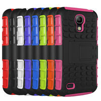 Hybrid Armor Shockproof Kickstand Protector Case for Samsung Galaxy S4 I9500