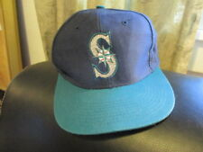 LOGO 7 SEATTLE MARINERS 90's Blue & Teal with S & Baseball Logo Snap back 1 Size