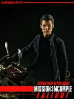 SUPERMAD TOYS 1/6 Ethan Tom Cruise Agent 12inch Male Action Figure Collectible