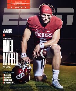 Baker Mayfield Oklahoma Sooners ESPN Cover - select size