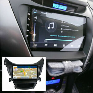 For Hyundai Elantra 2011-2013 Android 9.1 Car Stereo Radio Gps Navi Wifi3G Radio