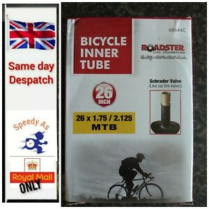 "Bicycle Bike inner tube 26"" Inch x 1.75 / 1.95 / 2.125 / 2.35 mountain, cycle"
