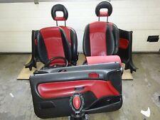 Sitz Lenkrad Lederausstattung Türverkleidung Rücksitz Leder Peugeot 206 CC (37)