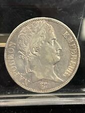 1811 5 Francs, Coin, France,  Paris VF, Silver