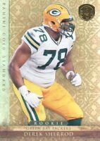 2011 Gold Standard Football #180 Derek Sherrod RC /299 Green Bay Packers