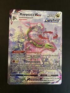 Pokémon Rayquaza Vmax Alternative Full Art Holo MINT  218/203 Evoluzioni Eteree