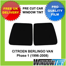 Pre-Cut Window Tint - CITROEN BERLINGO VAN (1996-2008) - Rear Windows 5% LIMO