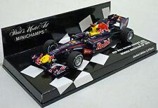 Minichamps 1/43 Red Bull RB6 Sebastian Vettel Winner Brazilian GP 2010 410100205