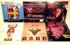 Lot of 6 Laserdisc Movies Cape Fear Bram Stoker's Dracula Fatal Instinct Horror