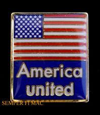 AMERICA UNITED US USA FLAG EXTRA STARS HAT PIN 911 WTC