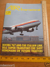 1982 Air International V23 #4 magazine military Boeing 767 Bell super Transport