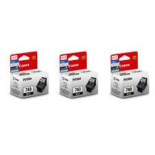 Canon PG-740 Ink Cartridges (for MG4270/MG4170/MG3670/MX537/MX527) (3pcs)-BLK