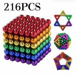 3mm Releive Pressure Magic Balls Beads Puzzle Sphere Creative Toys Hobby 216PCS