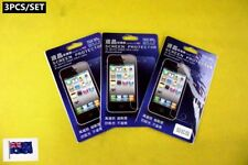 3PCS LCD Screen Cover Protector with Cleaning Cloth Set - iPhone 5, 5S (D03)