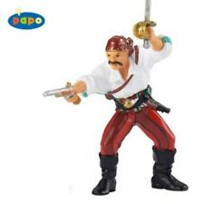 Cosair with Gun and Sword - Papo: vinyl miniature toy human figure