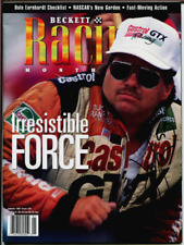 John Force NHRA Authentic Autographed Racing Becket January 1997