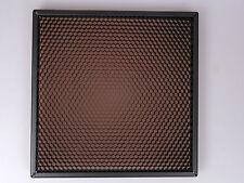 honeycomb grid square (24.5 x 24,5 cm / 9,6 x 9,6 inch)