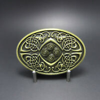 Celtic Keltic Legend Phoenix Oval Belt Buckle Gurtelschnalle Boucle de ceinture