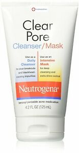 Neutrogena Clear Pore Cleanser/Mask - 4.2 oz