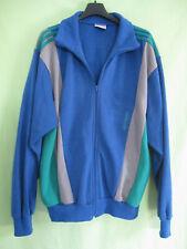 6b2cd269d5 Veste Adidas Bleu vert Vintage 80'S Jacket Acrylique ventex France - 180 / L