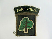 More details for sherwood foresters cloth arm badge with 46th division badge